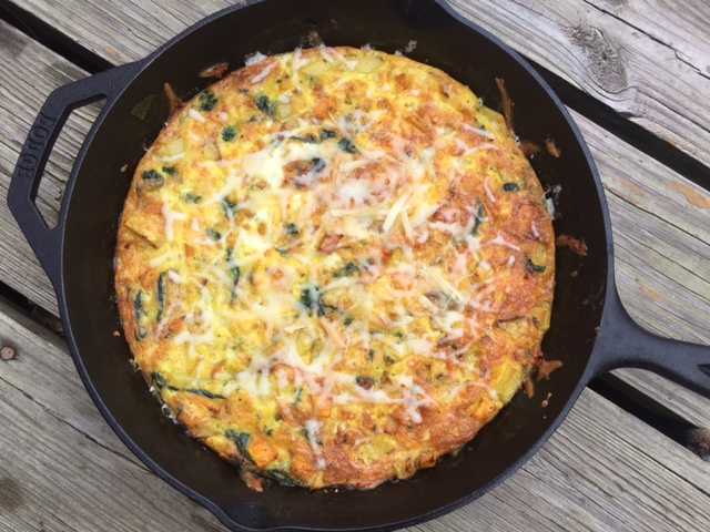 Spinach Potato Frittata